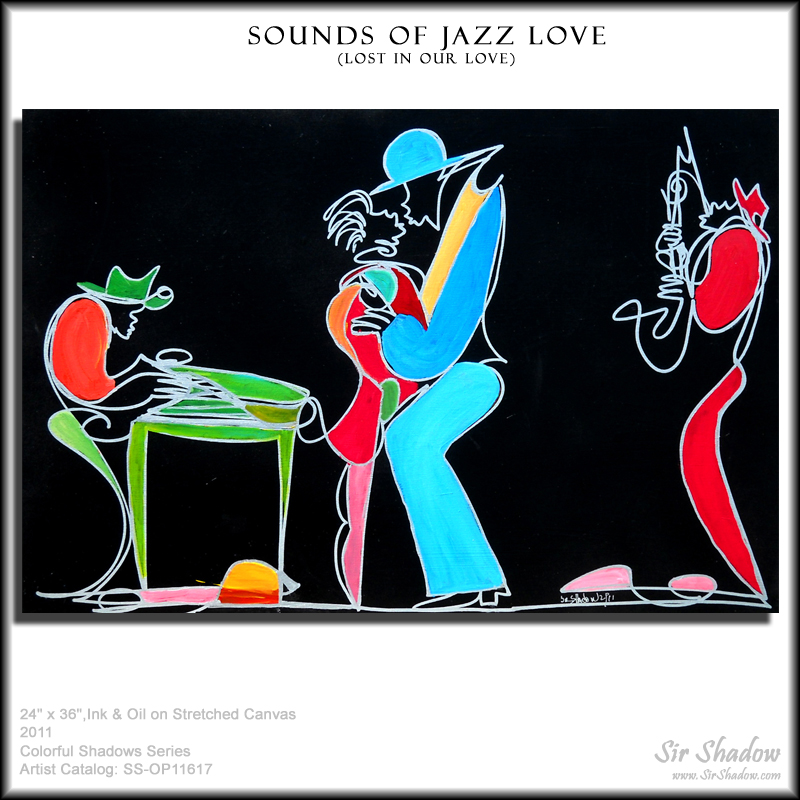 ~Sounds of Jazz Love - Painting Archive