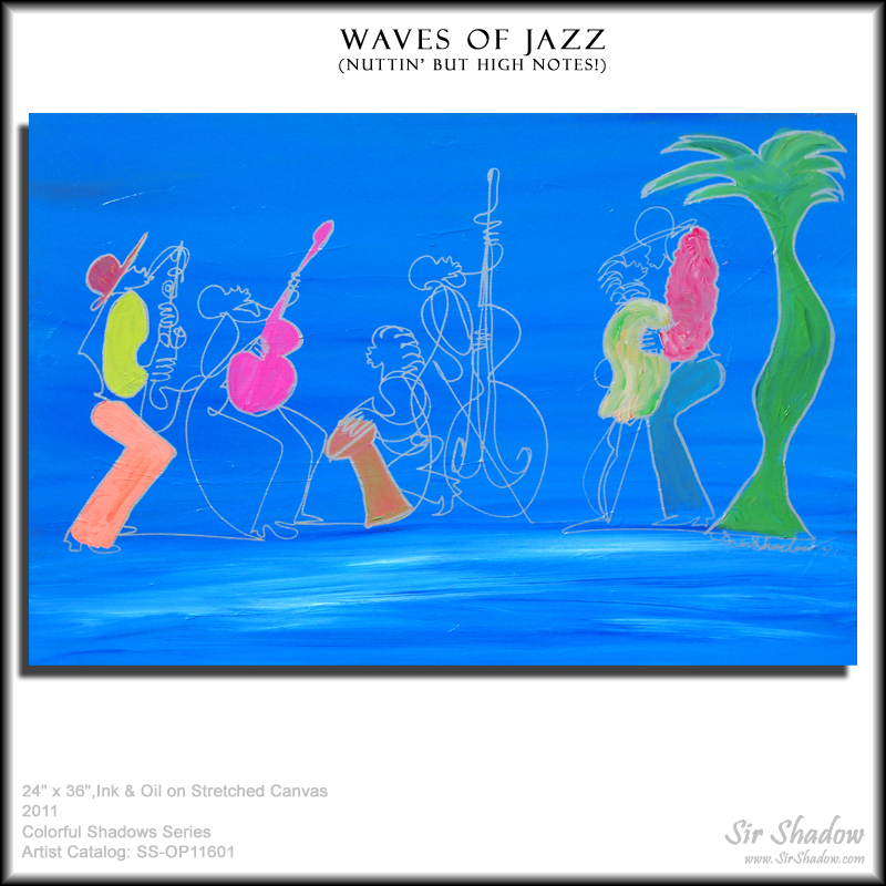 ~Waves of Jazz - Painting Archive