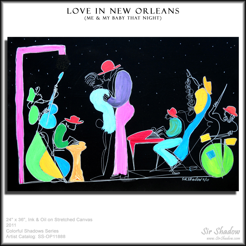 ~Love in New Orleans - Painting Archive