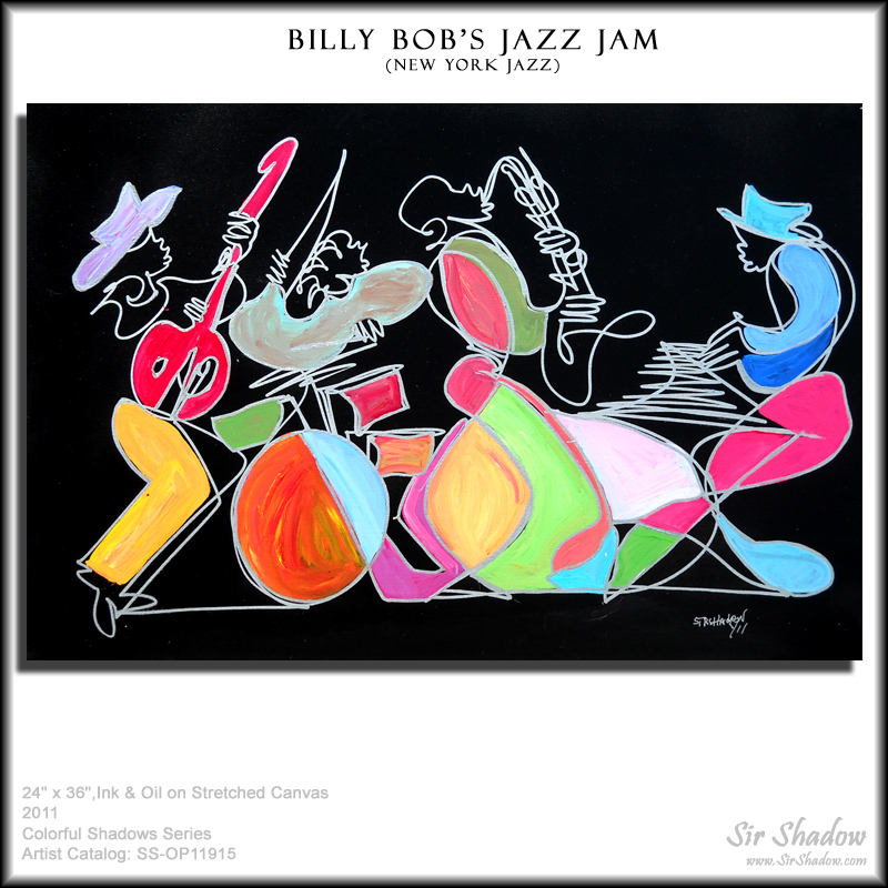 ~Billy Bob's Jazz Jam - Painting Archive
