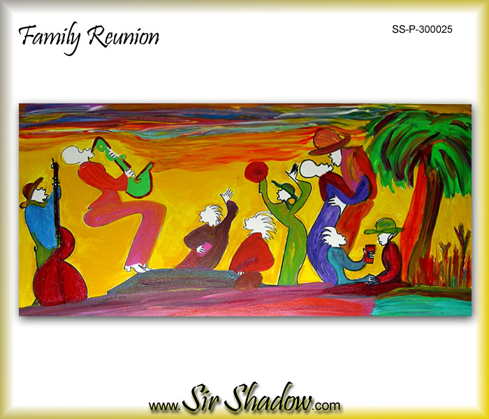 ~Family Reunion - Painting Archive