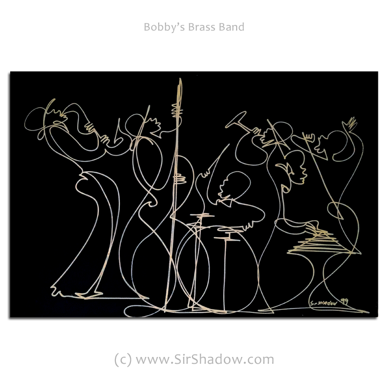 ~Bobby's Brass Band - Drawing Archive
