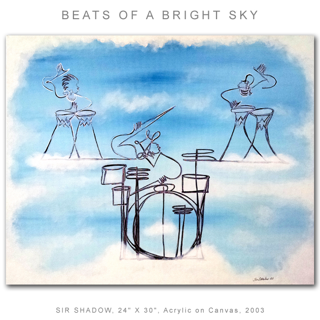 ~Beats of a Bright Sky - Painting Archive