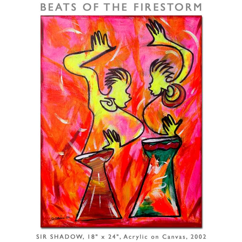 ~Beats of the Firestorm - Painting Archive