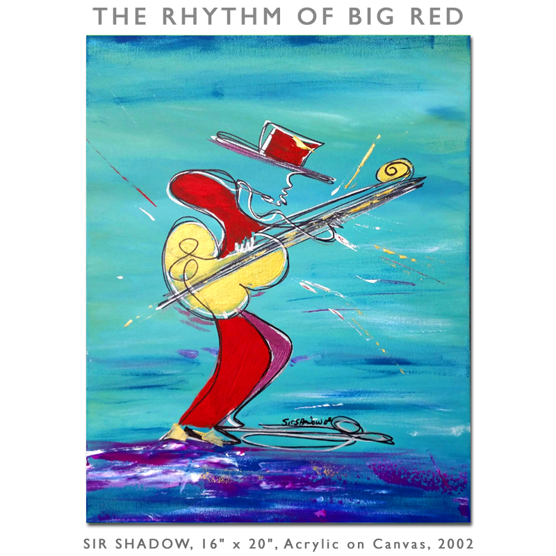 The Rhythm of Big Red - Painting Archive