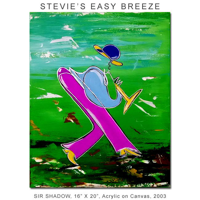 ~Stevie's Easy Breeze - Painting Archive