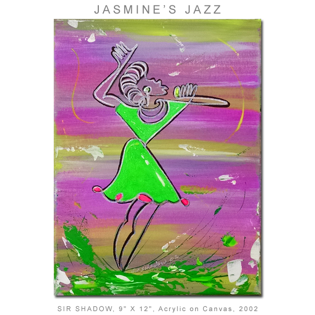 ~Jasmine's Jazz - Painting Archive