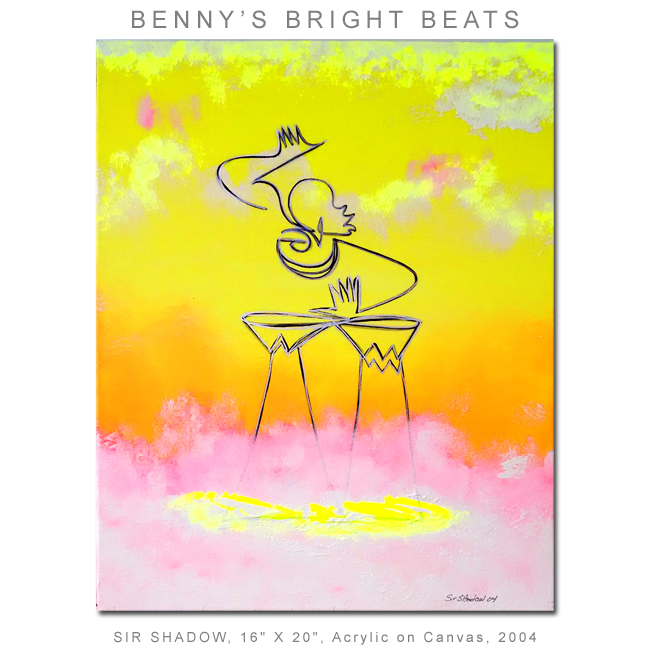 ~Benny's Bright Beats (Shadows in the Sky) - Painting Archive